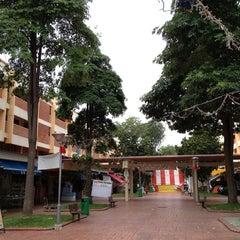 Photo taken at Changi Village by James S. on 2/20/2013