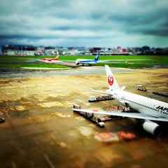 Photo taken at 福岡空港 (Fukuoka Airport - FUK/RJFF) by avyavya on 9/1/2013