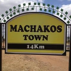 Photo taken at Machakos Town by Deejayceleb on 7/25/2013