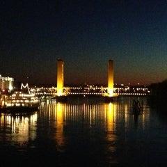 Photo taken at I Street Bridge by Jodie on 1/2/2013