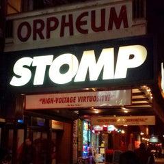 Photo taken at Orpheum Theatre by HTEDance on 3/11/2015