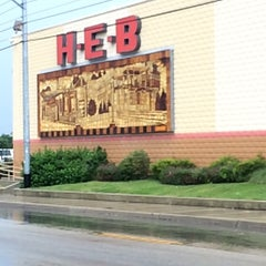 Photo taken at H-E-B by Santiago S. on 6/14/2015