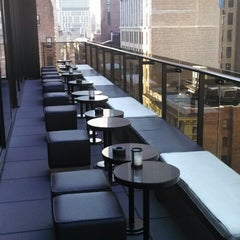 Photo taken at Gansevoort Park Avenue NYC by Siyun F. on 4/25/2013