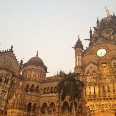 Photo taken at Chhatrapati Shivaji Terminus by Alexandra N. on 11/3/2012