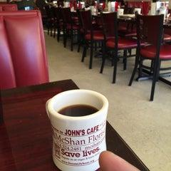 Photo taken at John's Cafe by Don C. on 1/19/2015