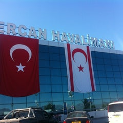 Photo taken at Ercan Havalimanı | Ercan Airport by Tugçe Ecem A. on 10/29/2013