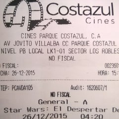 Photo taken at Cines Costazul by Pedro L. on 12/26/2015