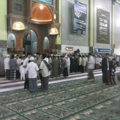 Photo taken at Masjid Agung Cianjur by Dvi S. on 10/25/2013