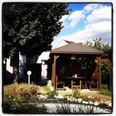 Photo taken at Restaurace U Racka by Milan K. on 9/28/2012