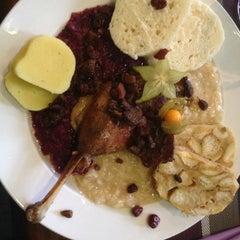 Photo taken at Restaurace U Racka by Milan K. on 11/17/2012