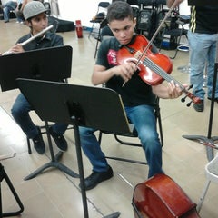 Photo taken at Escuela Juvenil de Musica by Dania C. on 4/14/2014