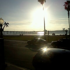Photo taken at Shades Ocean Front Bistro by Jessica A. on 4/5/2013