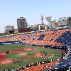 Photo taken at 横浜スタジアム (YOKOHAMA STADIUM) by Write S. on 5/26/2013