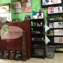 Photo taken at Elite Nails Hands and Foot Spa by Tal D. on 1/22/2013