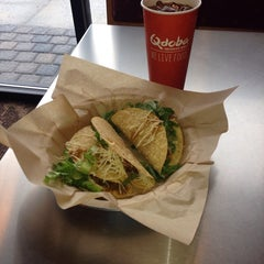 Photo taken at Qdoba Mexican Grill by Chad on 11/5/2013