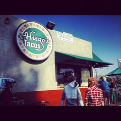 Photo taken at Hugo's Tacos by Nicholas Z. on 12/7/2012