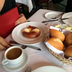 Photo taken at La Taba Restaurante Argentino by Ponchito Y. on 12/18/2014