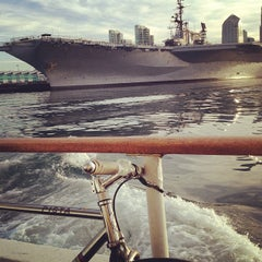 Photo taken at San Diego Bay by Chris C. on 2/15/2013