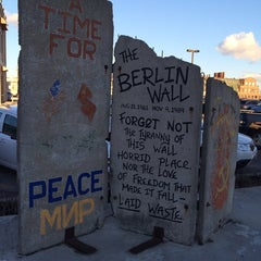 Photo taken at Berlin Wall by Leah C. on 11/14/2014