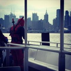 Photo taken at Hudson River Promenade by Krista K. on 10/9/2015
