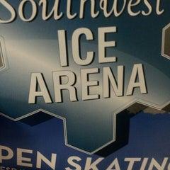 Photo taken at Southwest Ice Arena by Dawnya on 2/23/2014