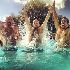 Photo taken at Upshur Swimming Pool by Matt G. on 7/7/2013