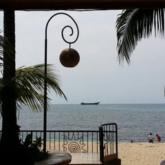 Photo taken at Apo Idon Beach Resort by Kelvin R. on 5/2/2014