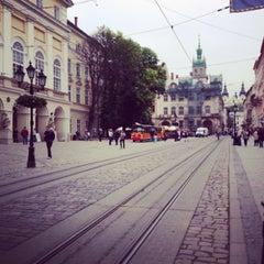 Photo taken at Площа Ринок / Rynok Square by Alla B. on 5/23/2013