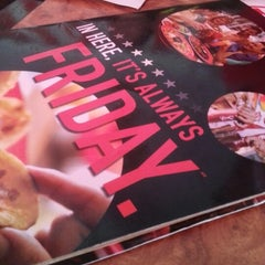 Photo taken at T.G.I. Friday's by Suri S. on 1/24/2013