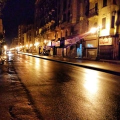 Photo taken at El Kasr El Aini St | شارع القصر العيني by Khaled S. on 12/14/2013