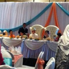 Photo taken at Dewan Seri Siantan by Wan M. on 10/7/2012