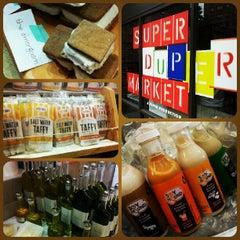 Photo taken at SUPER(DUPER)MARKET by Andrea T. on 7/16/2012