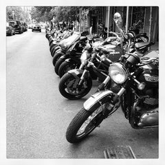Photo taken at Ducati Triumph New York by Adam S. on 9/29/2012