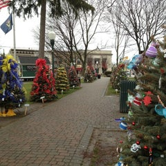 Photo taken at Kellogg Park by Andrew H. on 12/8/2012