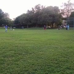 Photo taken at Springwoods Park by Mindy M. on 10/21/2014