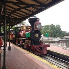 Photo taken at Walt Disney World Railroad - Main Street Station by Fumio I. on 7/23/2012