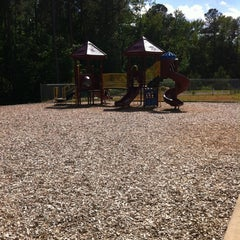 Photo taken at Honeycutt Park by Patricia C. on 5/10/2012