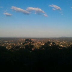 Photo taken at Mount Gravatt Lookout by Melinda M. on 7/30/2012
