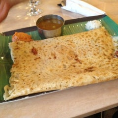 Photo taken at House of Dosas by Sonya H. on 5/26/2012