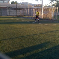 Photo taken at SuperSoccer by Cristobal P. on 3/3/2012