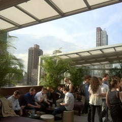 Photo taken at The Empire Hotel Rooftop by Cindy M. on 6/8/2012