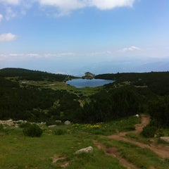 Photo taken at вр. Безбог, 2645м / Bezbog peak, 8677ft by Martin D. on 7/18/2012