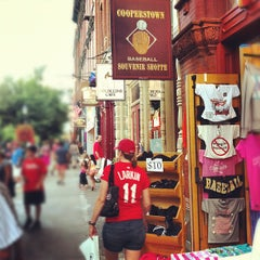 Photo taken at Main Street In Cooperstown, NY by Grant M. on 7/22/2012