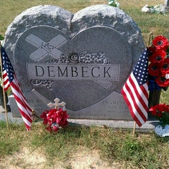 Photo taken at Sacred Heart Of Mary Cemetery by Gigi G. on 7/7/2012