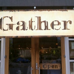 Photo taken at Gather by Brian M. on 6/30/2012