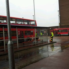 Photo taken at Hounslow Bus Station by Kathy M. on 4/19/2012