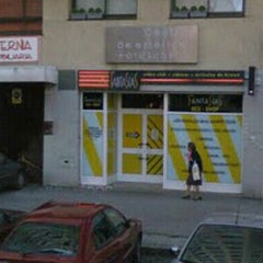 Photo taken at Fantasias sex shop by Parchis C. on 8/25/2012