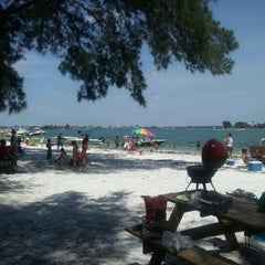 Photo taken at Ted Sperling Park at South Lido Beach by Rick F. on 9/2/2012