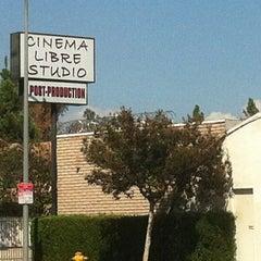 Photo taken at Cinema Libre Studio by frenchmaidrobot on 9/11/2012