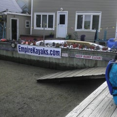 Photo taken at Empire Kayaks by Manuel T. on 8/18/2012